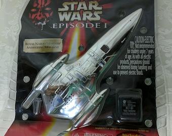 New Sealed Star Wars Episode 1 Royal Naboo Starship Answering Machine Tiger *eb