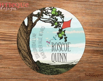 Under the Old Tree Personalized Return Address Label