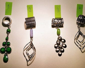Bails with pendants sold as a set or individually