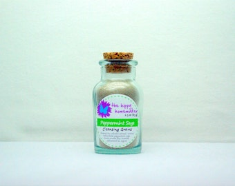 Peppermint Sage Cleansing Grains - Natural Facial Cleanser - Eco-Friendly Packaging