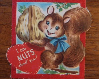 Vintage Valentine, USED, 1950s