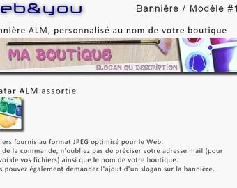 Custom banner, avatar and shop 'Paint'