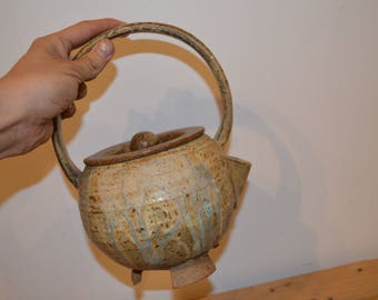 Handmade Ceramic Teapot *available to ship*