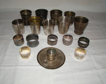 Set of drums and napkin ring