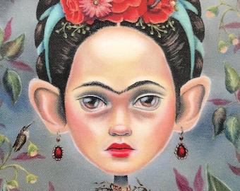 Frida in Thorns - Frida Kahlo - Vinyl Sticker