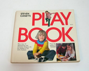 Play Book By Steven Caney, Activities For Children, Vintage Book