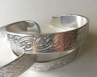 Jewelry,bracelet,bangle,cuff,Irish bracelet,Irish cuff,silver celtic cuff,silver celtic bracelet,St Patricks Day