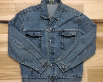 GUESS Jeans USA Georges Marciano Jean Jacket Denim Trucker
