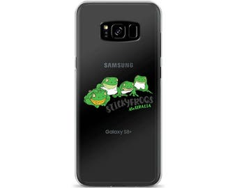 Stickyfrogs Frogs Samsung Phone Case Cover - Samsung Galaxy S7, Galaxy S7 Edge, Galaxy S8, Galaxy S8+
