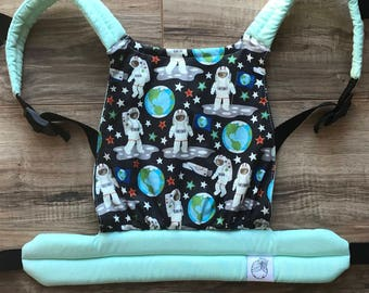 Glow in the Dark Astronaut Baby Doll Carrier