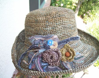 Custom made Floradora Hat
