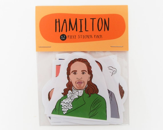 Hamilton 12 piece sticker set hamilton sticker pack hamilton sticker set hamilton the musical schuyler sisters rise up my shot from bestieclub