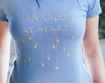 Star Gazer At Heart Graphic Tee