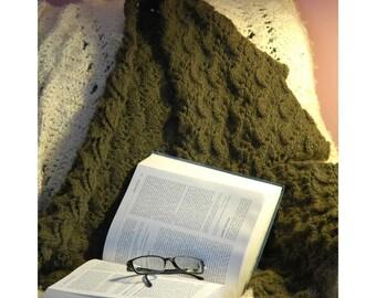 Vineyard Wrap Knitting Pattern ONLINE DOWNLOAD