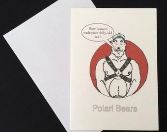 Polari Bear Card