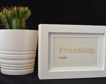 Urban Dictionary Wall Art / Friendship Definition / Dictionary Art / Funny Definition / Word Art