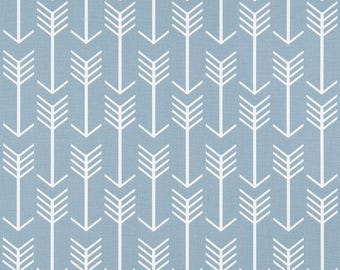 Arrow Cashmere Blue Premier Prints Home Decor Weight Fabric by the yard