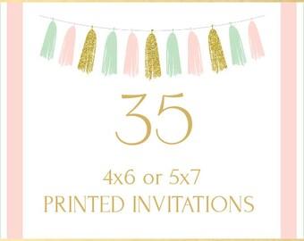 Printing Service, 35 Invitations
