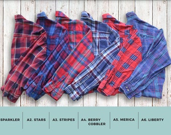 Buy 2 Get Any 1 Free- Oversized Vintage Flannel Shirts NEW STOCK ADDED 06.01