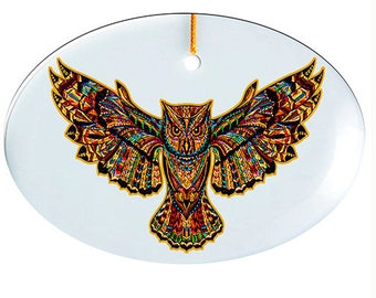 lg Suncatcher -Owl