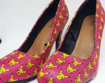 Pikachu Pokemon Stillettos
