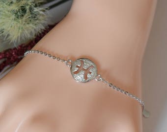 Pisces Zodiac Sterling Silver Bracelet/Anklet, Pisces Zodiac Bracelet, Sterling Silver Zodiac Bracelet, Zodiac Bracelet, Zodiac Jewelry
