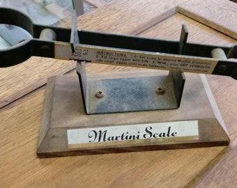 Vintage Martini Scale