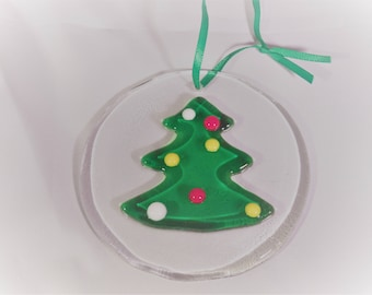 Christmas Tree Suncatcher Ornament
