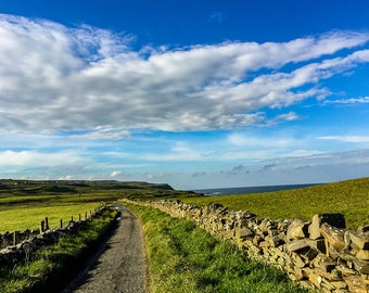 Old Irish Road, Ireland Photography, Ireland Landscape, Irish Photography, Landscape Photography, Travel Photography, Road Photography