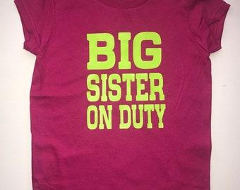 Big Sister/Brother Children's Shirt