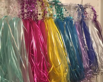 Wire Halos with Tulle,Ribbon and Flowers,Party Halos,Flower Halos,Tiaras,Fairy Halos,Princess Halos,Flower Headpiece,Flower Hat,Flower Crown