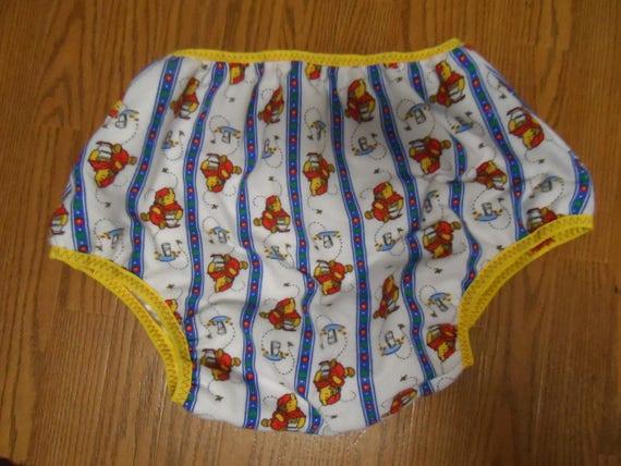 Adult Baby-Windel-Abdeckung. Pooh S.