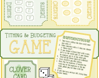 Tithing and Budgeting Game - Developing Talents