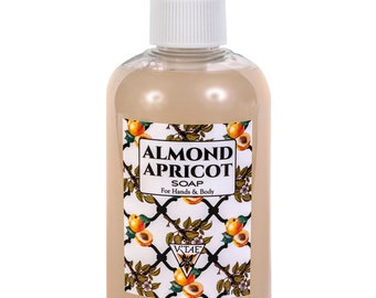 Almond Apricot Soap for Hands & Body