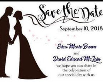 Save the Date Announcement / Invitation