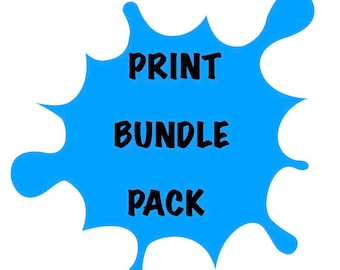 Print Bundle Pack