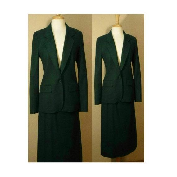Women S Suit Skirt Skirt Pendleton Coat Suit Wool Prep Women S