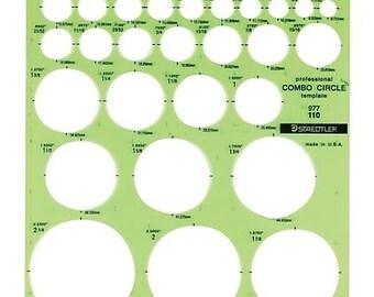 Circle Template Stencil TOO032