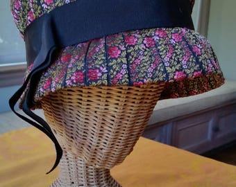 Saks Fifth Avenue Embroidered Bonnet Hat