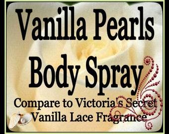 Vanilla Pearls Body Spray (Victoria's Secret's Vanilla Lace Fragrance)