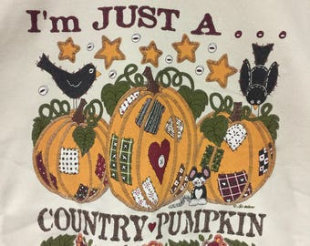 I'm just up country pumpkin