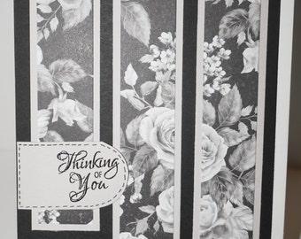 Thinking of You! Handmade Greeting Card