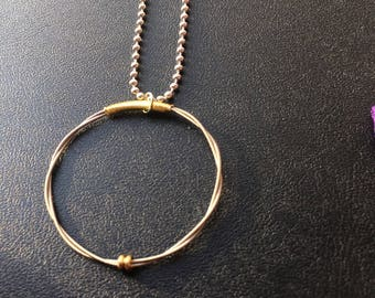 Guitar String Pendant Necklace