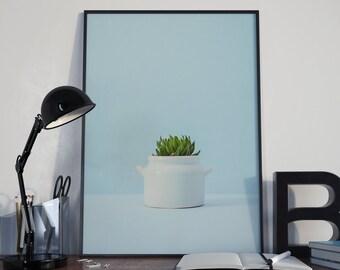 Art Print // Cactus Simplified