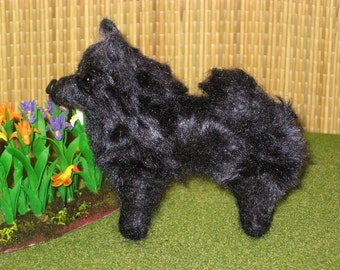 Needle Felted Dog / Your Dog in Miniature / Poseable