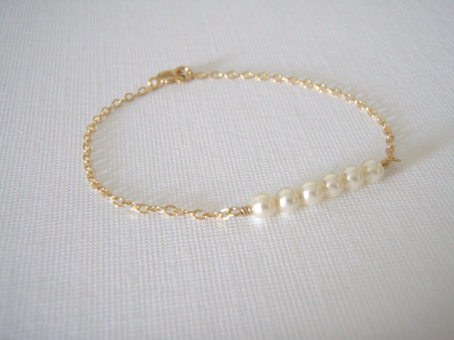 dainty filled minimal il fullxfull everyday tiny bracelet gold p tube bar