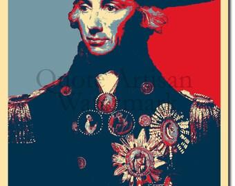Horatio Nelson Original Art Print - Photo Poster Gift