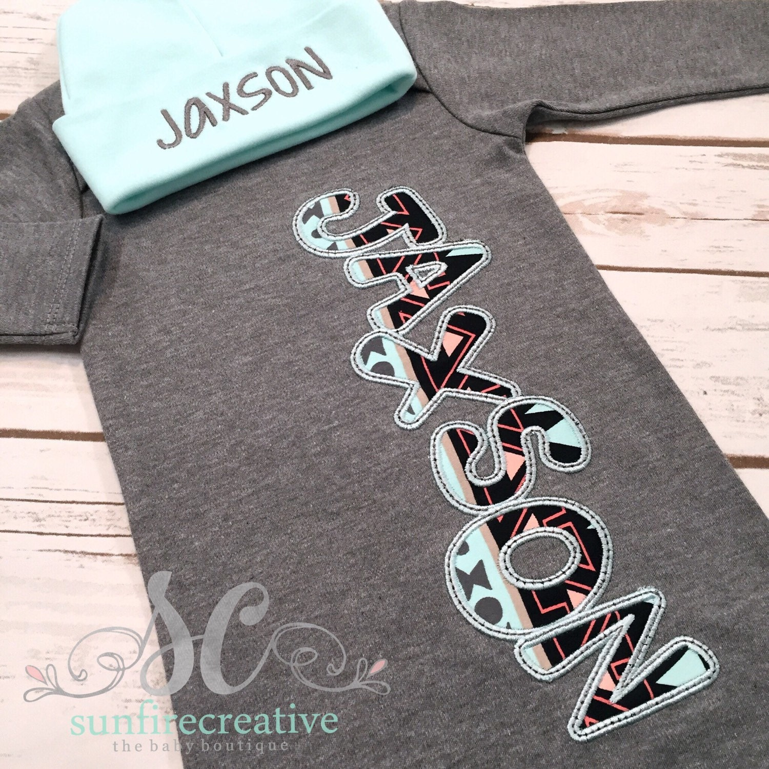 Baby Boy Coming Home Outfit Newborn Sleeper Baby Boy Name