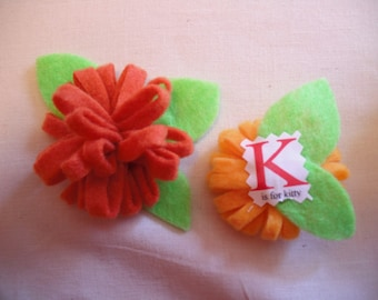 Pair of tiny MUM Corsages