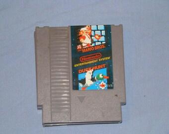 Original Super Mario and Duck Hunt NES